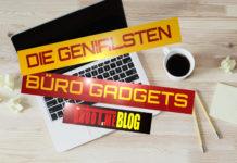 Büro-Gadgets/ Office-Gadgets - Geniale Büro Utensilien für den Arbeitsplatz