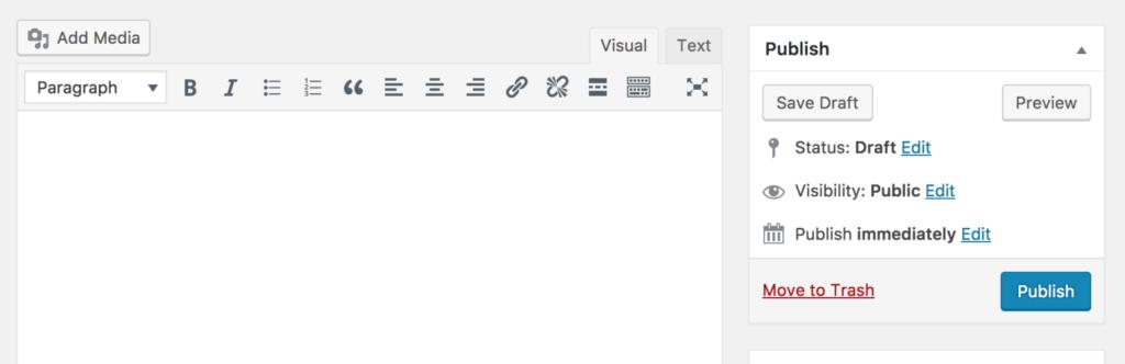 Classic Editor - WordPress ursprünglicher Editor