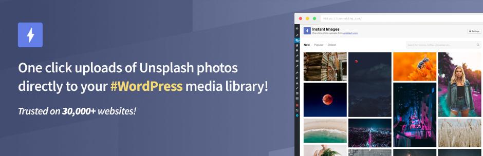 Unsplash Bildarchiv - kostenlose Fotos und Bilder automatisch importieren